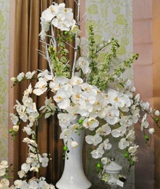 Ingrosso piante artificiali torino erbamatta - Centrotavola natalizi con fiori finti ...