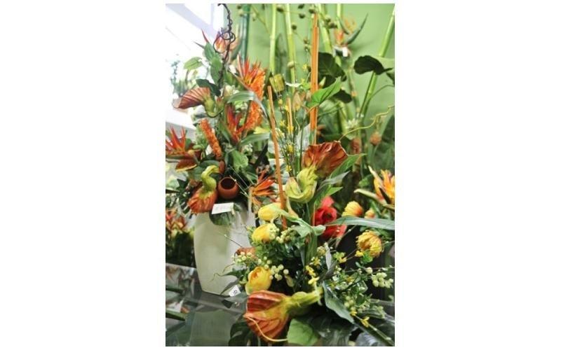 Composizioni fiori rossi