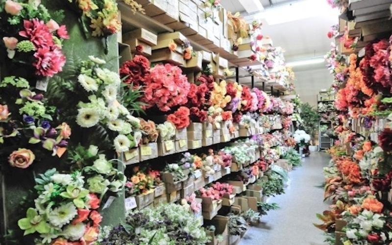 Fiori per bouquet finti