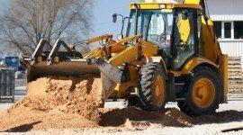 scavi per edilizia, sbancamenti, noleggio escavatori Pavimenti Autobloccanti