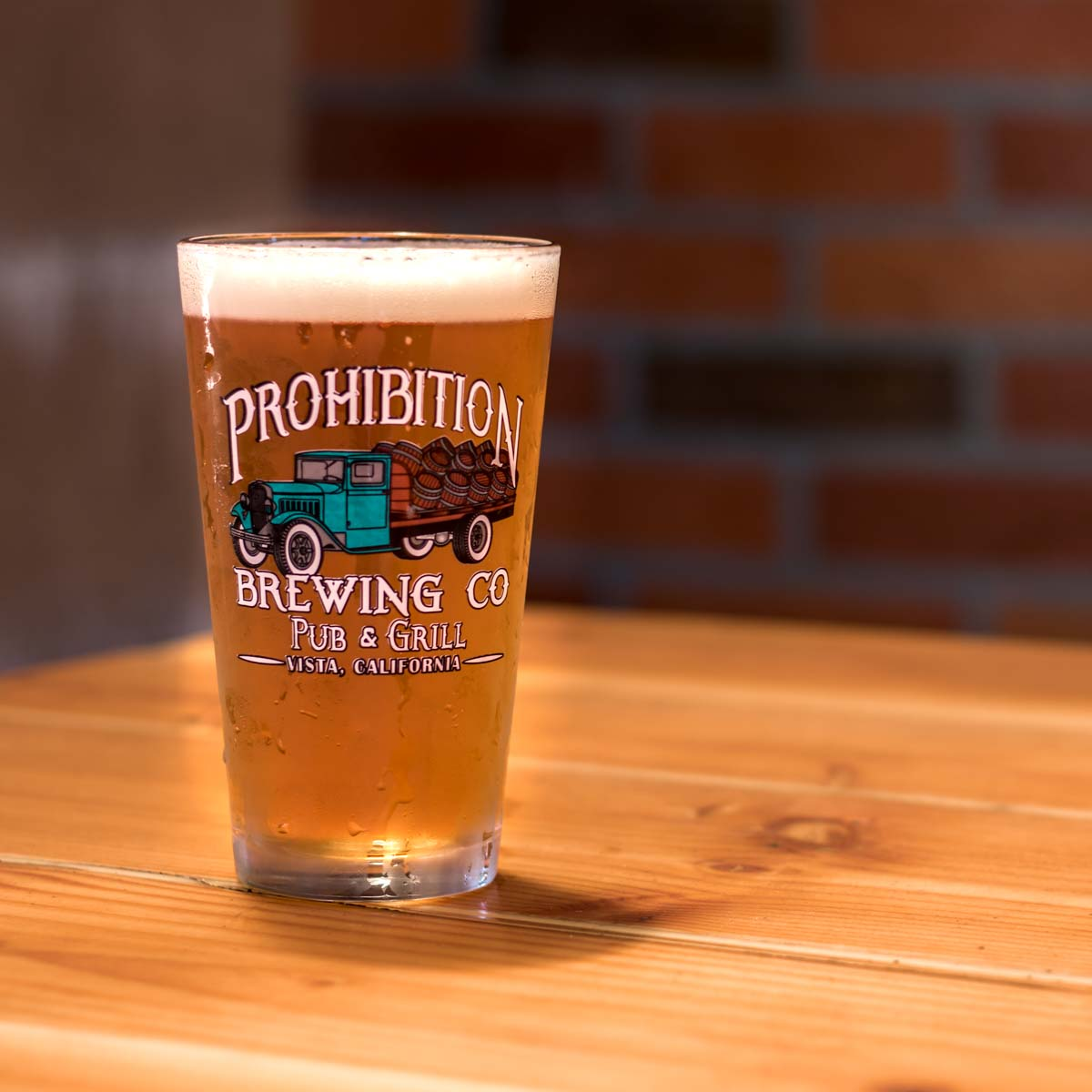 peach wheat beer  san diego prohibition beer
