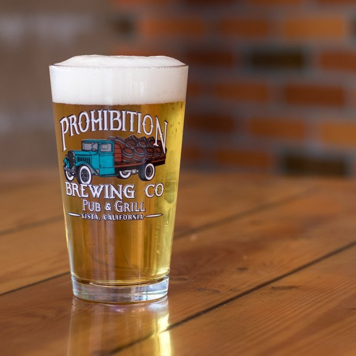 blonde ale prohibition brewing co