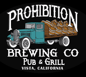 prohibition brewing co vista logo