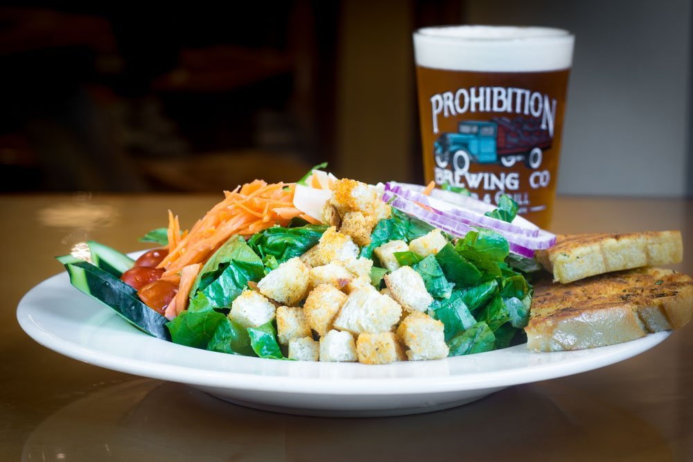 prohibition salad and beer vista ca