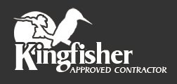 Kingfisher approved contractor logo