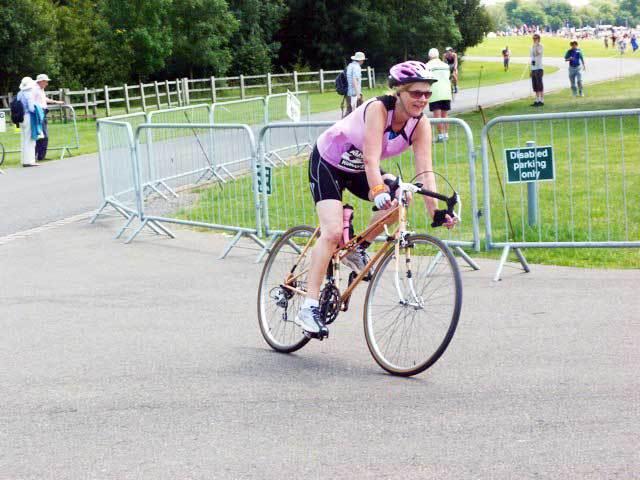 Angela Tom's Triathlon