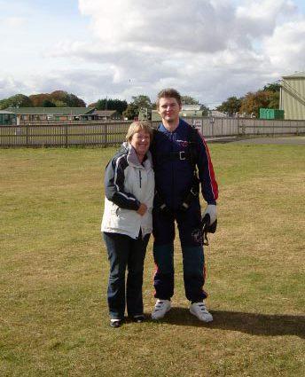 Darren Baker's Skydive