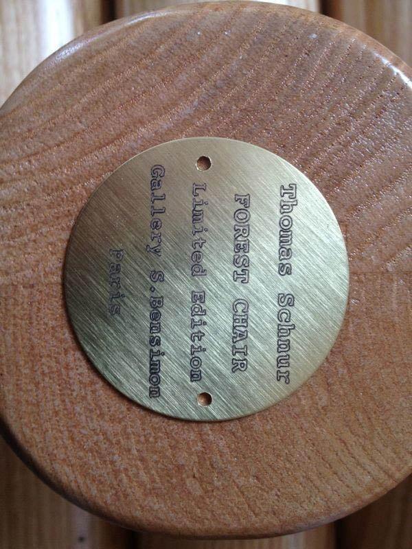 targa personalizzata con cornice in legno
