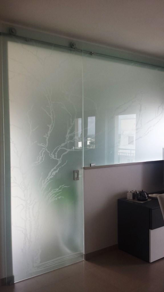 porte in vetro moderne