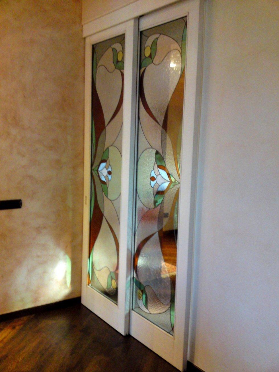 vetrate tiffany per porte