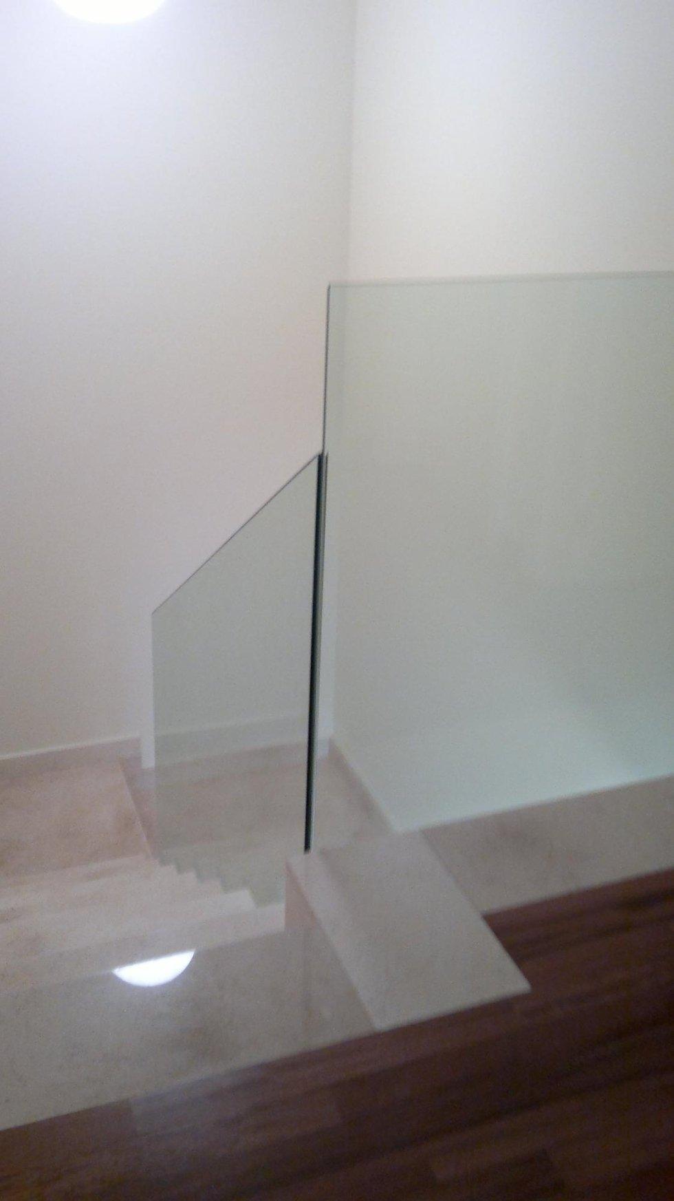 balaustre in cristallo