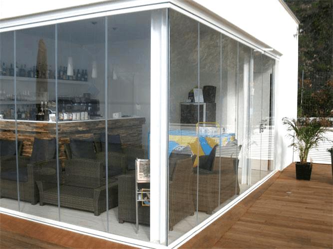 pareti vetrate