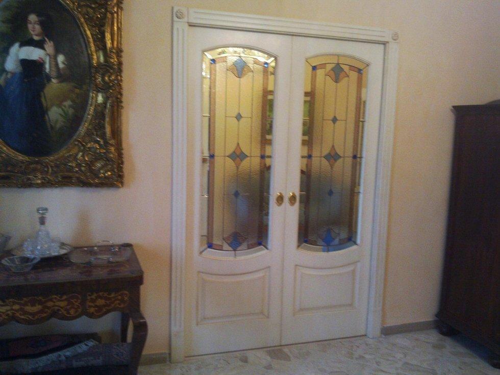 vetrate tiffany per porte scorrevoli