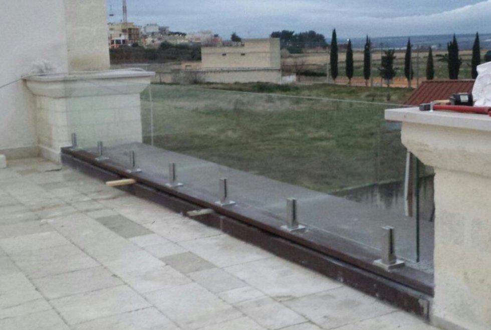 Balaustre e parapetti - Putignano - Bari - Vetreria BF