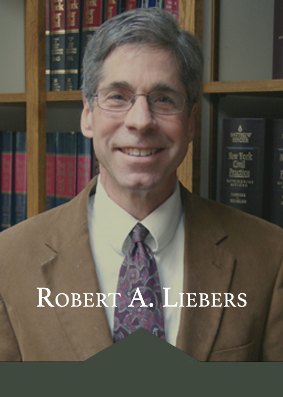 Robert A. Liebers - Work Injury Attorney in Randolph, NY & Chautauqua County, NY - Burgett & Robbins LLP
