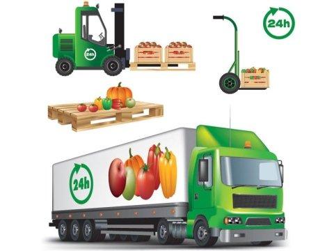 Distribuzione frutta verdura
