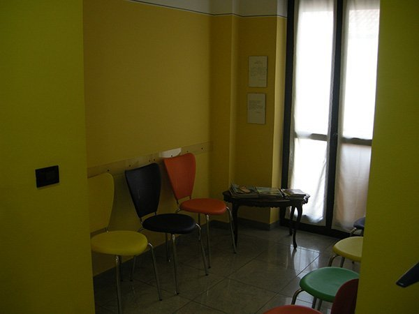 Sala di attesa Studio dentistico Lupano
