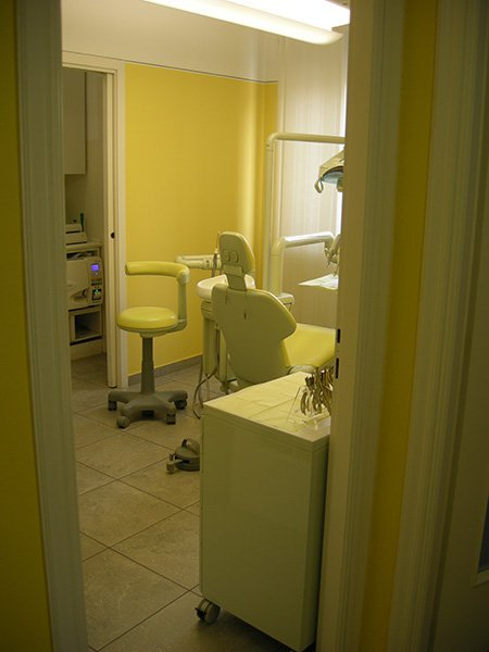 Scorcio dello studio dentistico