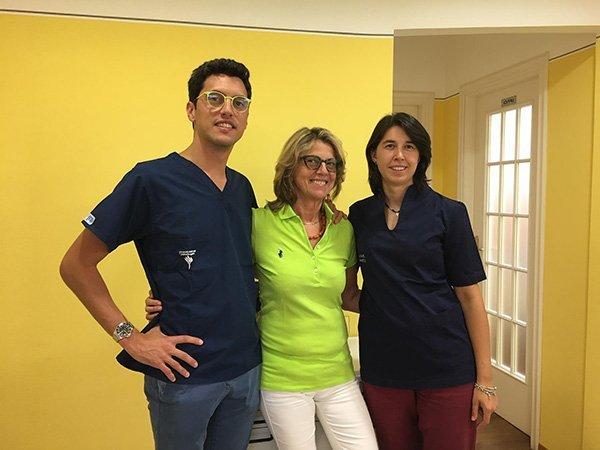 Team dello studio dentistico Lupano