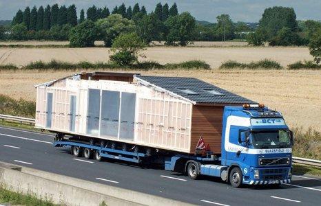 Caravan transportation