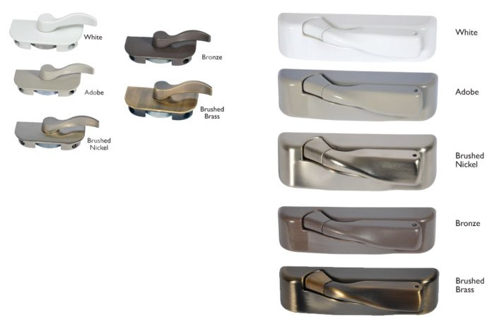 Gorgeous Window Hardware Options