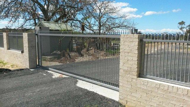 nice steel gate