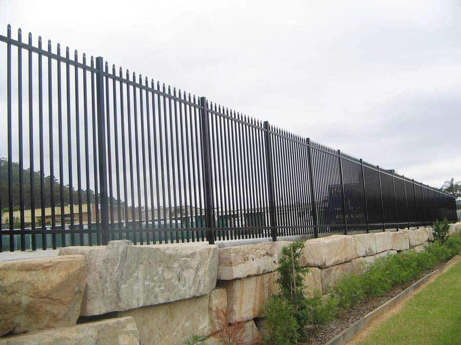 pressed steel fencing