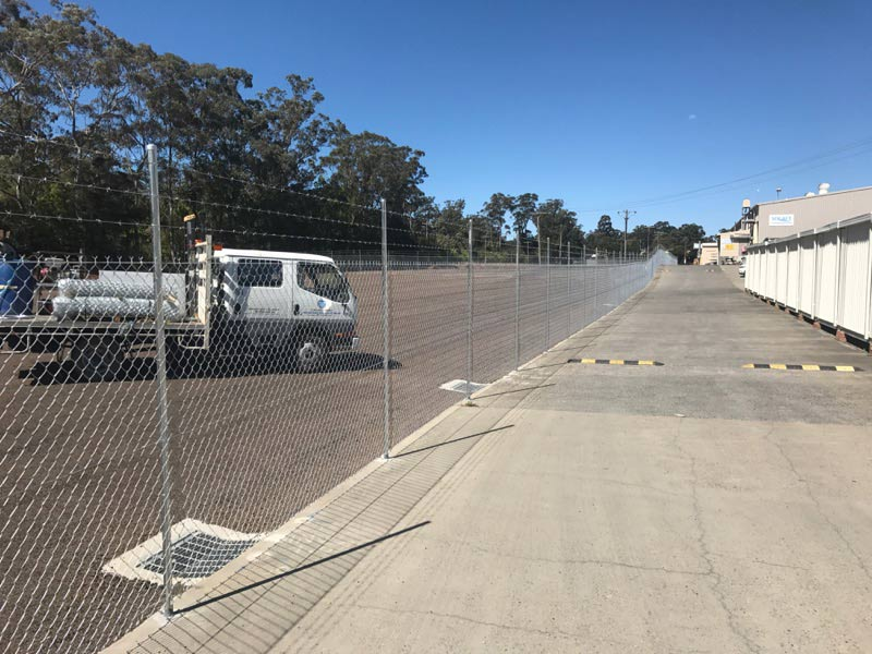 fencing for parking lot