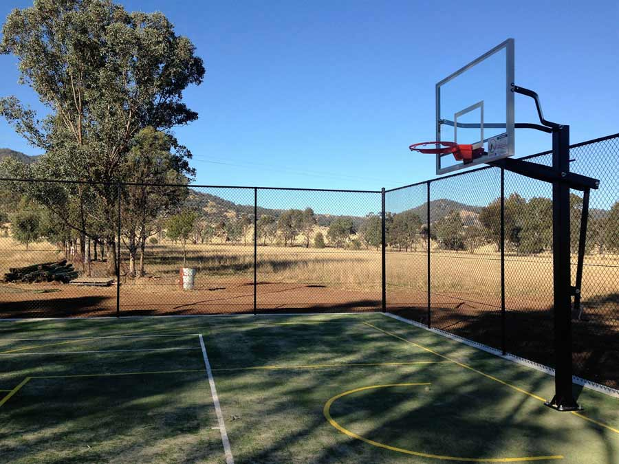 fencing for basketball court