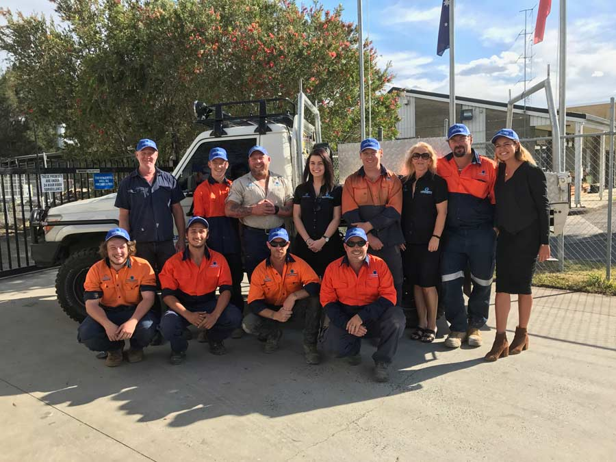 central coast fencing industries team