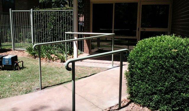 welded handrail