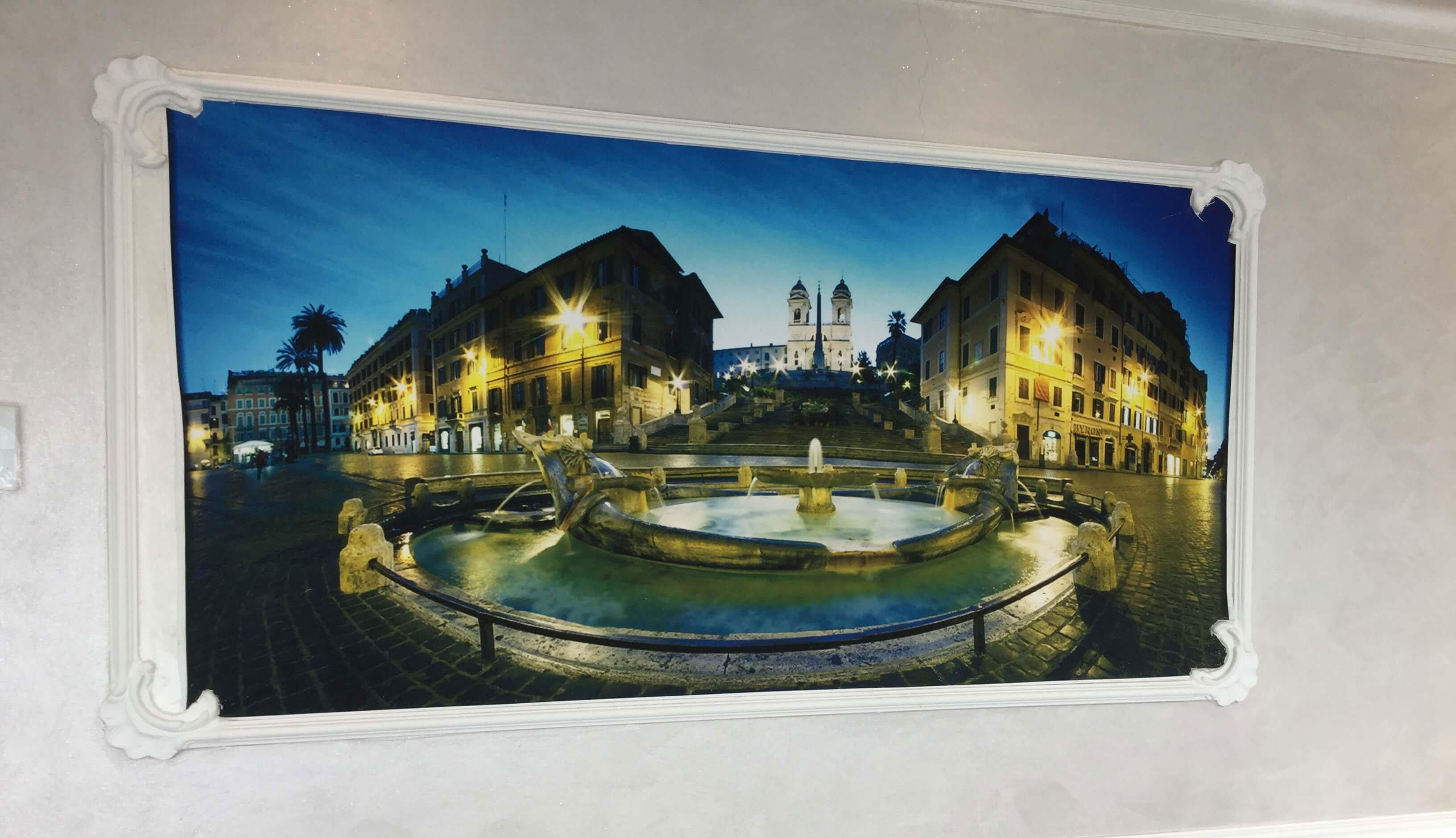 Foto incorniciata di Piazza Navona al Ristorante New Azzurra a Roma
