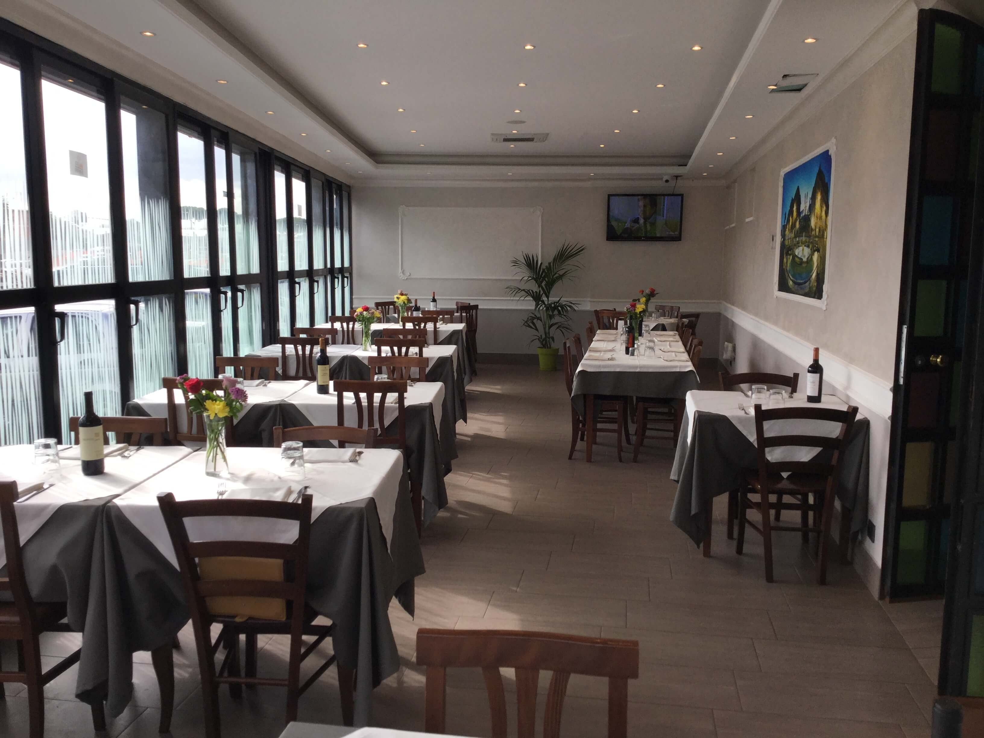 Sala ristorante New Azzurra