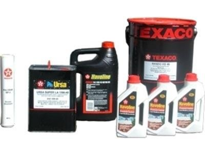lubrificanti Texaco