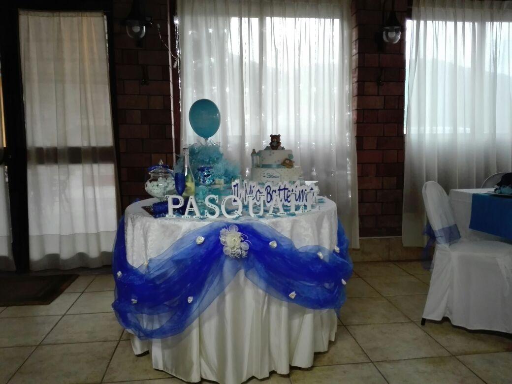 tavola per battesimo