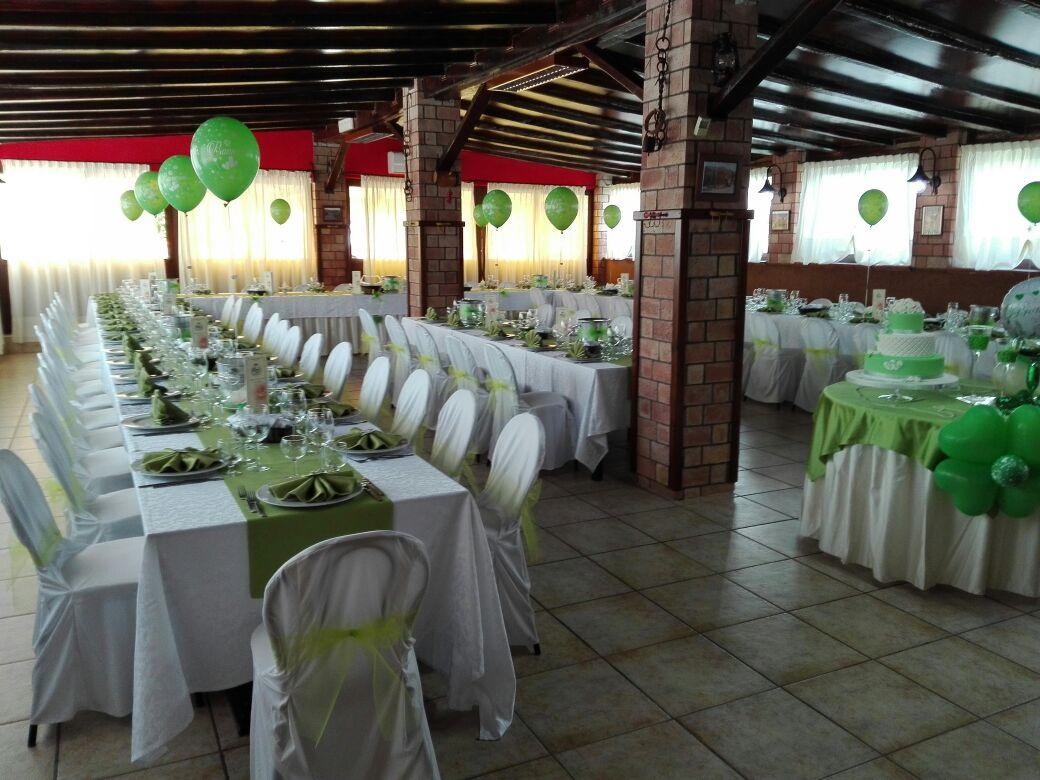 tavoli per eventi