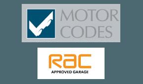 RAC and Motor Codes log