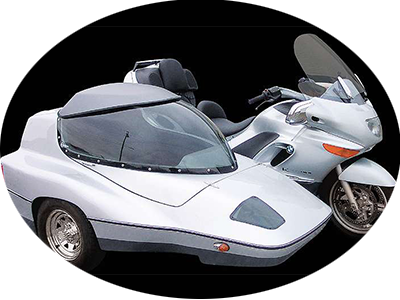 Astro 22 Big side car with silver trike