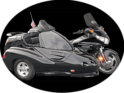 GTL side car for GL 1800 trike