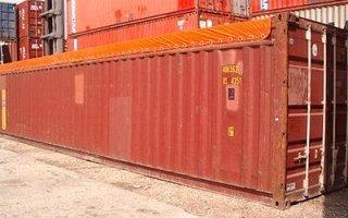 noleggio container carico dall'alto
