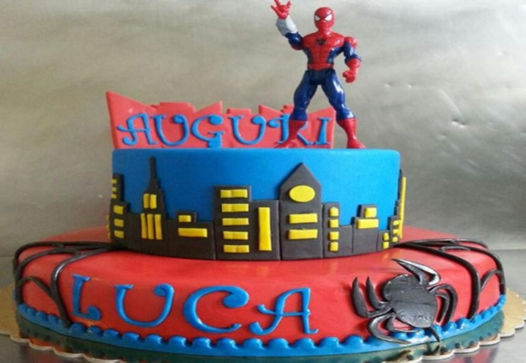 torta spidermen