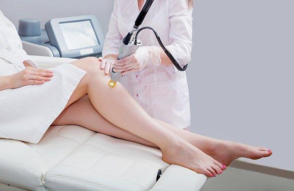 Laser epilation and cosmetology