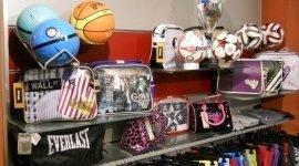 palloni da calcio, borse sportive