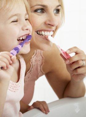Tumbler - children brushing teeth