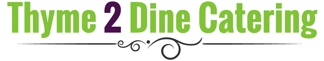 Thyme 2 Dine Catering logo