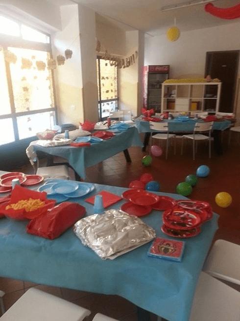 Sala per inviti compleanno