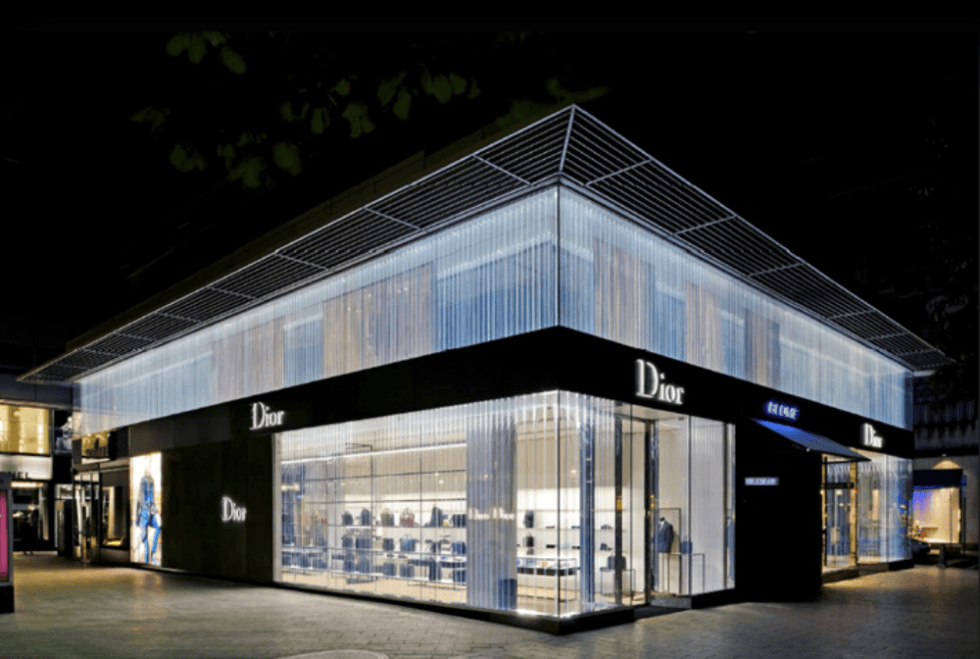 DIOR DUSSELDORF - lighting management system