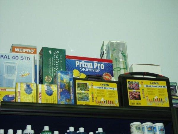 confezioni e prodotti a marchio SERA PRIZM PRO e WEIPRO