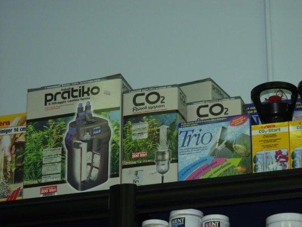 confezioni di impianti CO2 per acquari