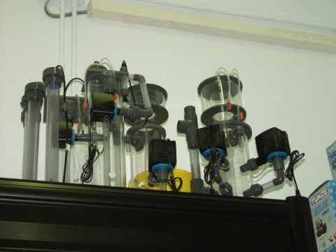 riscaldatori e reattori di calcio